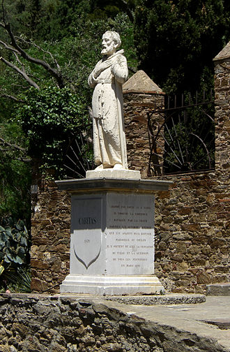 Francis of Paola - Francis de Paula, Bormes-les-Mimosas, France