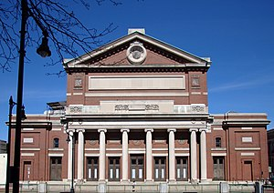 Symphony Hall, Boston - Symphony Hall from the south.