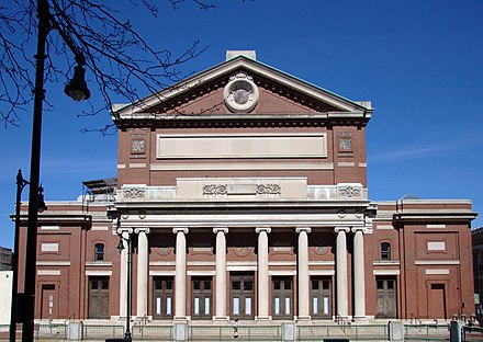 Symphony Hall, home of the Boston Symphony Orchestra Boston Symphony Hall from the south.jpg