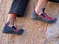 Bouldering - foot smear.jpg
