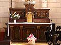 Bourdeilles église autel.JPG