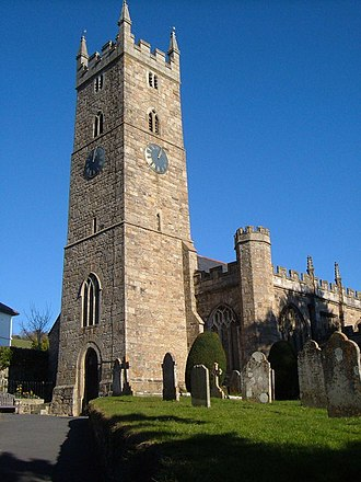 Bovey Tracey - Church of St Peter, St Paul and St Thomas of Canterbury