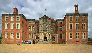 Bramshill House -  The front (southern) façade of Bramshill House