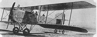 9th Bomb Squadron - French Breguet 14 B.2 bomber, the type used by the 9th Aero Squadron.