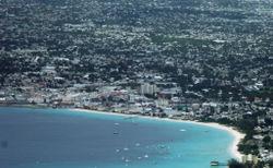 Luftbild der Innenstadt