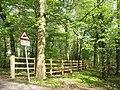 Bridleway, Whitewebbs, Enfield - geograph.org.uk - 1260703.jpg
