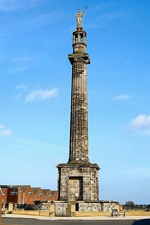 Britannia Monument - Britannia monument today