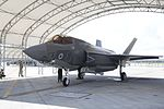 British Armed Forces attached to Marine Fighter Attack Training Squadron 501 recieve a new F-35B Lightning II 160715-M-RZ485-039.jpg