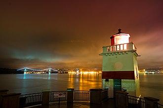 Brockton Point Lighthouse - Image: Brockton Point Lighthouse Vancouver BC