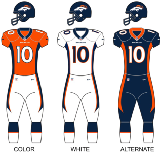 Denver Broncos National Football League franchise in Denver, Colorado