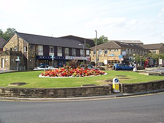 Baildon Town and civil parish in West Yorkshire, England