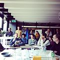Brownbag Lunch at ImpactHub Zurich about Wikipedia Offline (KIWIX).jpg