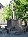 Brunnen Nikolaikirchplatz (Mitte) Wappenbrunnen&Gerhard Thieme&1987.jpg