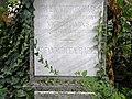 Bucuresti, Romania, Cimitirul Bellu Catolic, Mormantul lui Mircea Babes (unicul fiu al ilustrului savant Victor Babes); (detaliu 1); B-IV-a-B-20118.JPG
