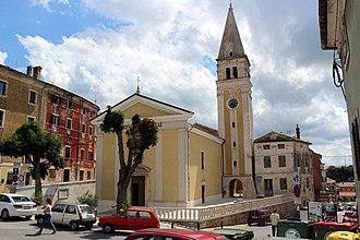 Buje - Church of Mother of Mercy in Buje.