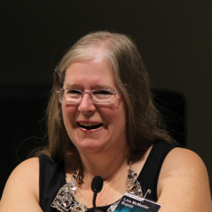 Lois McMaster Bujold -  Bujold at Finncon 2012 in Tampere