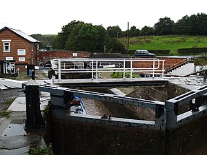Grade II* listed buildings in Cheshire East - Image: Bunbury Locks, Cheshire