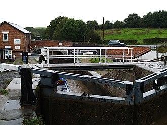 Bunbury, Cheshire - Image: Bunbury Locks, Cheshire