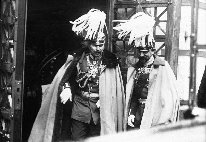 Bundesarchiv Bild 102-00618, Kaiser Wilhelm II. und Carol I. von Rumänien