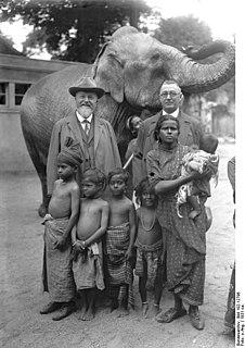 John Hagenbeck German animal dealer and plantation owner