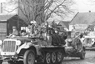 Siege of Breslau - German troops in Breslau on 2 February 1945