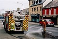 Bundoran - Firemen clearing oil spill on N15 ( Main St ) - geograph.org.uk - 1351957.jpg