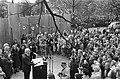 Burgemeester Ivo Samkalden tijdens zijn toespraak, Bestanddeelnr 927-8906.jpg