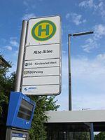 Bushaltestelle Alte Allee, München Pasing 02.JPG