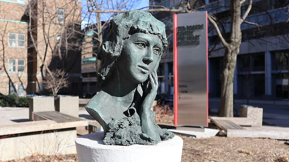 Bust of Mary Pickford