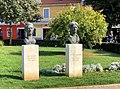 Busts to Pino Budicin and Matteo Benussi at Rovinj.jpg