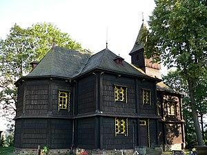 Bystřice (Frýdek-Místek District) - Exaltation of the Cross church