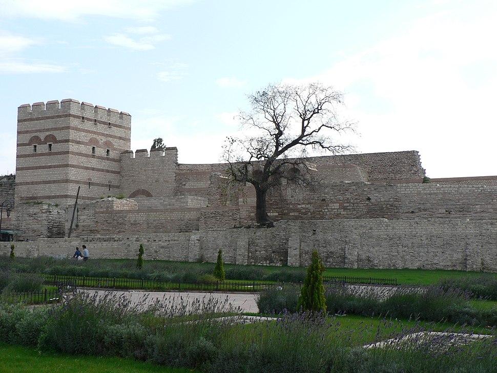 Byzantijnse stadsmuren