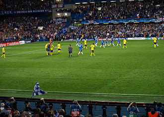2009 UEFA Champions League Final - Barcelona take on Chelsea at Stamford Bridge in the semi-final second leg.