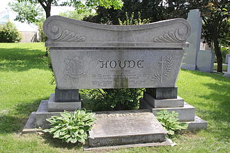 Camillien Houde - Headstone at Cimetière Notre-Dame-des-Neiges