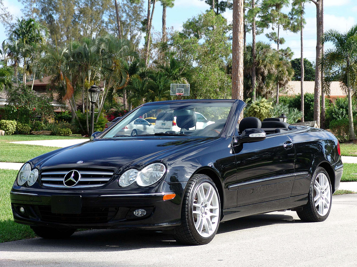 Mercedes benz clk class wikipedia for 2010 mercedes benz clk350