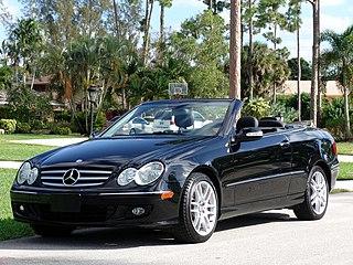 Mercedes-Benz CLK-Class Motor vehicle