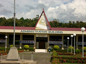 Central Mindanao University - CMU Administration Building.