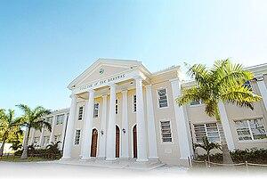 University of the Bahamas - COB Front Entrance