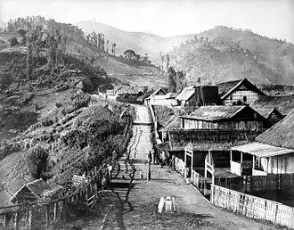 Tosari - Toasri in the early 20th century