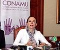 CONFERENCIA DE PRENSA DE CANCILLER MARIA FERNANDA ESPINOSA SOBRE REUNIÓN DE CONAMU. 02.08.07 MRECI (986212949).jpg