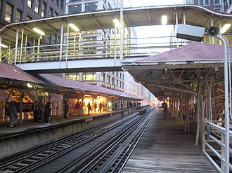 Madison/Wabash station - Image: CTA Loop Elevated Madison & Wabash Station