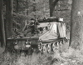 Combat Vehicle Reconnaissance (Tracked) - A Belgian Samaritan of the 4th Chasseurs à Cheval.
