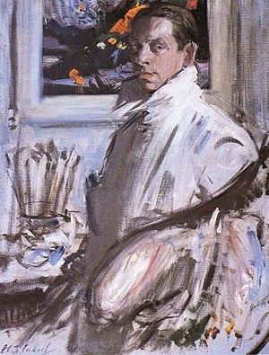Francis Cadell (artist) - Francis Cadell selfportrait, 1914