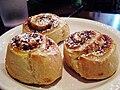 Café Luna cinnamon rolls, 2009.jpg