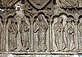 Cahors Kathedrale - Nordportal 2 Maria und Apostel.jpg