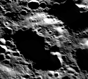 Cai Lun (crater) - Image: Cai Lun lunar crater