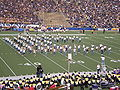 Cal Alumni Band performing at halftime at EWU at Cal 2009-09-12.JPG
