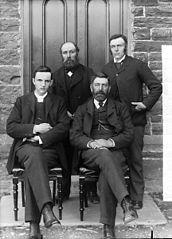 Calvinsistic Methodist officials, Llansannan (1897)