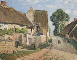 Chaumières à Auvers-sur-Oise