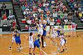Canberra Capitals vs Logan Thunder 2 - Australian Institute of Sport Training Hall.jpg